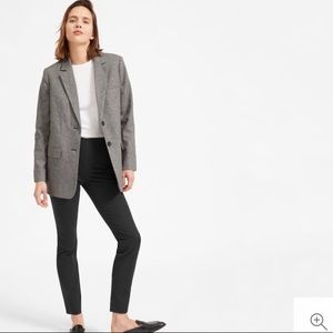 Everlane Black Side-Zip Work Pant